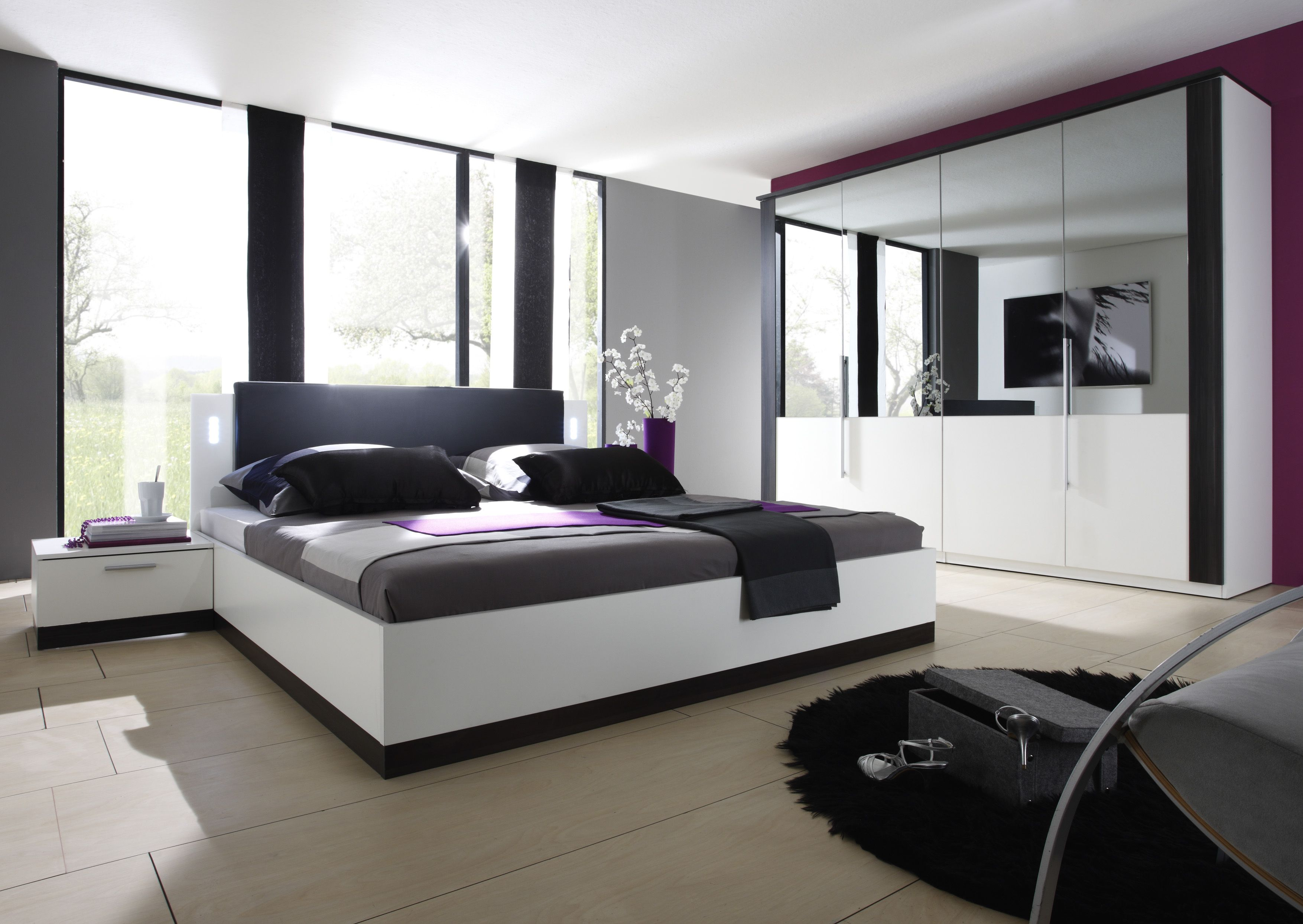 Genial Komplett Schlafzimmer Boxspringbett Modern Bedroom