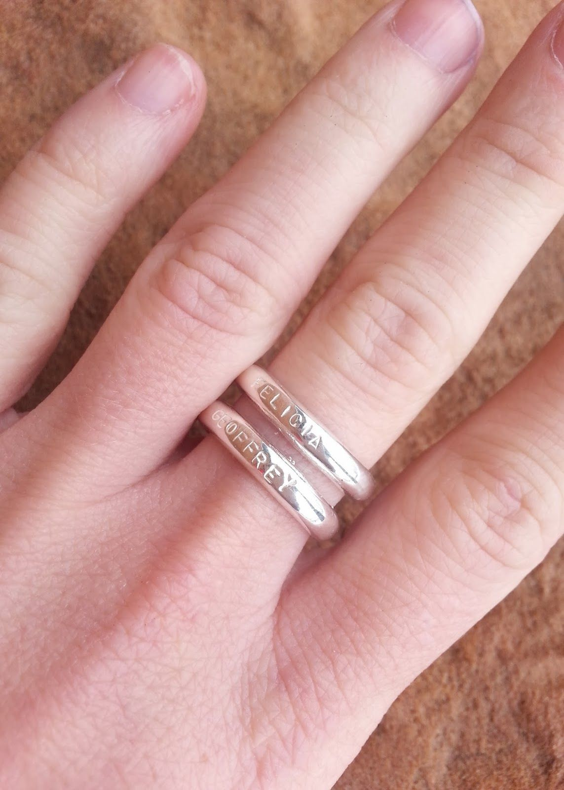 sterling silver adjustable customizable name ring. Fits up to 6 ...