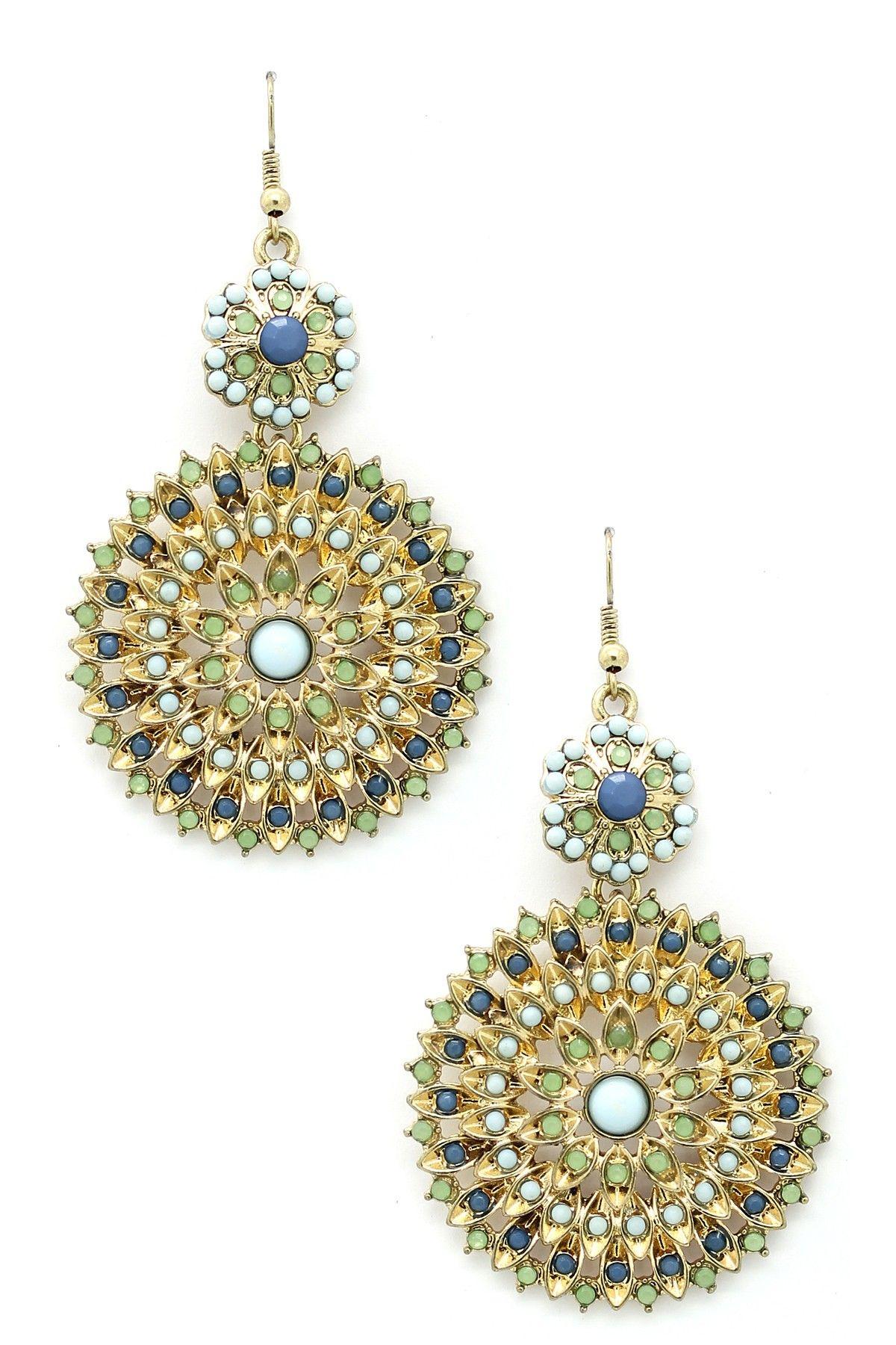 Eye Candy Los Angeles Valentina Earrings Dream jewelry