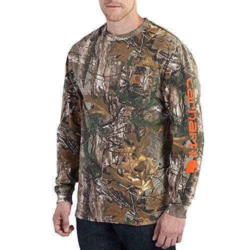 fb2dde66e2 Carhartt Men s Workwear Graphic Camo Long Sleeve T-Shirt