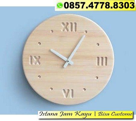 Jam Dinding Kayu Club Bola 95ac3c71ee
