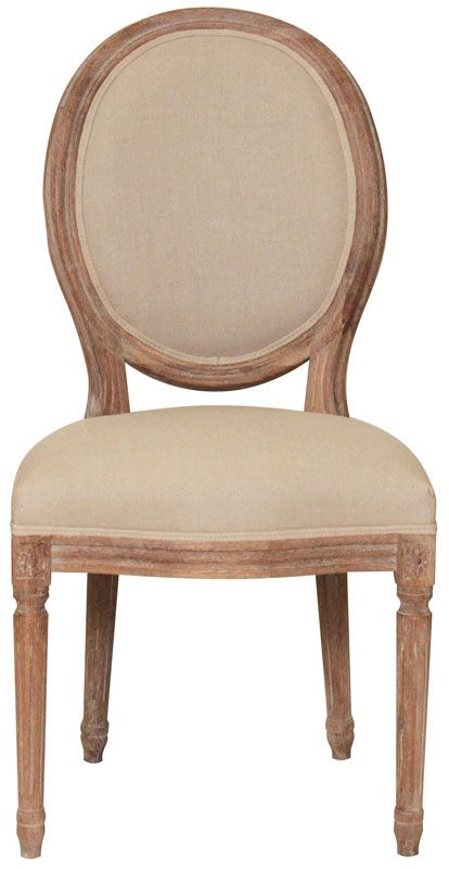 ABC Home French Quarter Medallion Side Chair