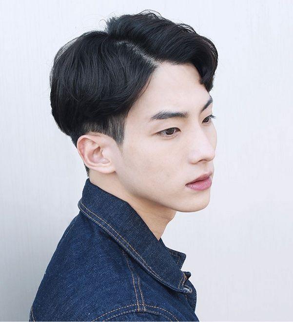 2 Block Wave Cut Source Soonsiki Mens Hair Style In 2019