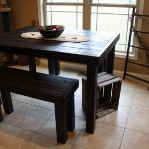 Rustic pub style kitchen table httptvhssfo pinterest rustic pub style kitchen table workwithnaturefo