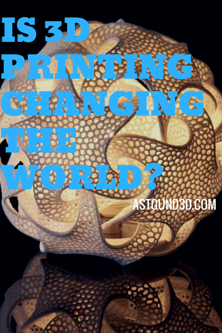 Is 3D Printing Changing the World? 3d printing