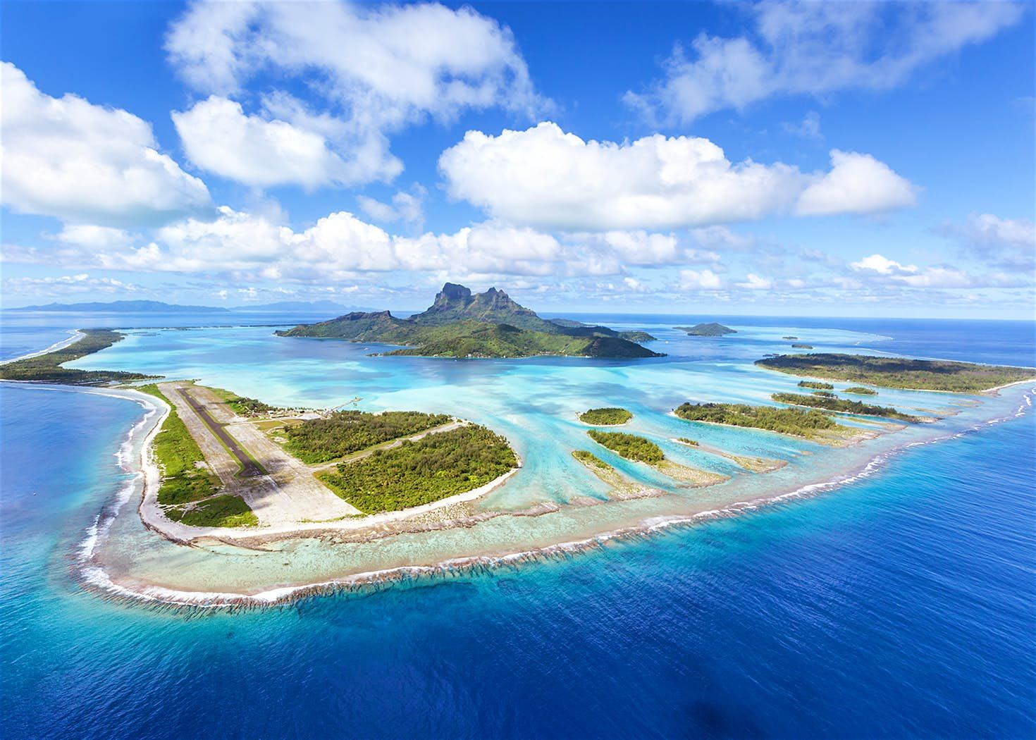 French Polynesia On World Map%0A Next year u    s travel trends  private islands  Bora Bora French PolynesiaAerial