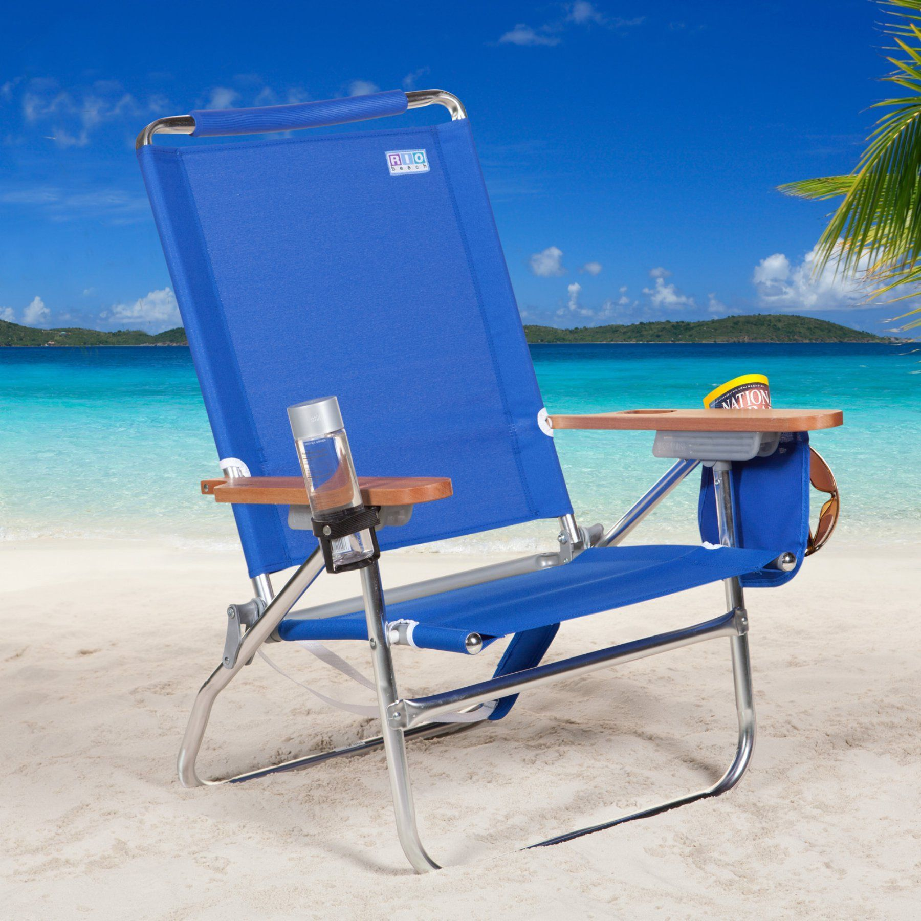 Rio Sc680c Blue Beach Chair Sc680 46 1 Sc