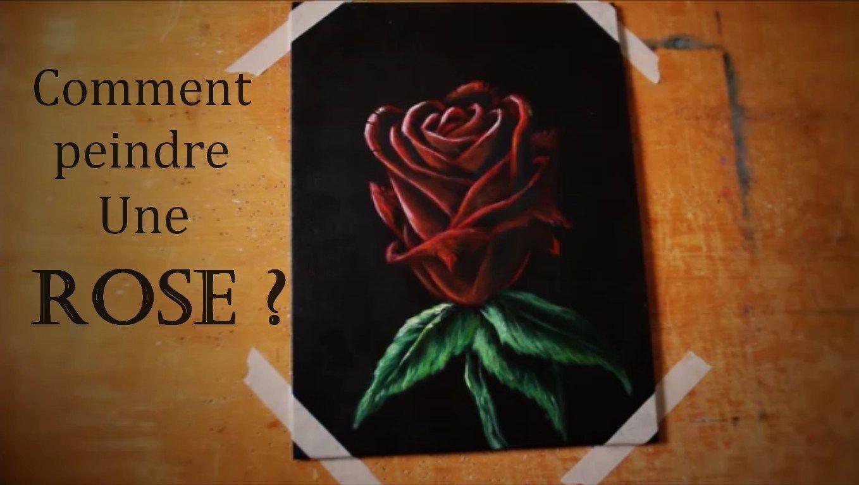 Comment peindre une rose ? Débuter la peinture | Comment peindre des roses, Comment peindre ...