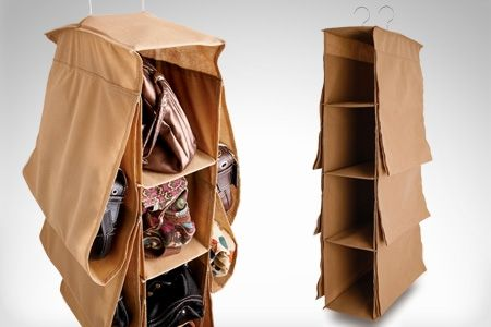 Organizador de carteras ok almacenaje de bolsos pinterest - Donde guardar los bolsos ...