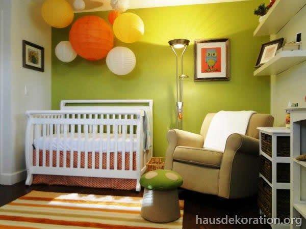 Babyzimmer ideen grün  2013/02/babyzimmer,einrichten,dekor,ideen,grün,orange ...