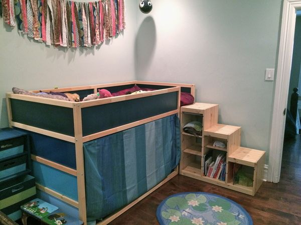 Bunk Bed Hack Hellobee Baby Room Curtains Ikea Loft Bed