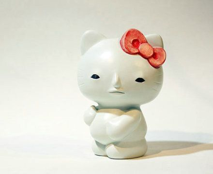 7005702cf Hello Kitty without makeup   Interesting things   Hello kitty, Who's ...