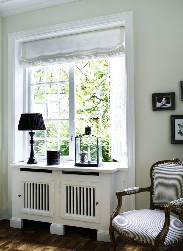 Designer Living Room Radiators: Some Radiators Are Boxed Away Discreetly...