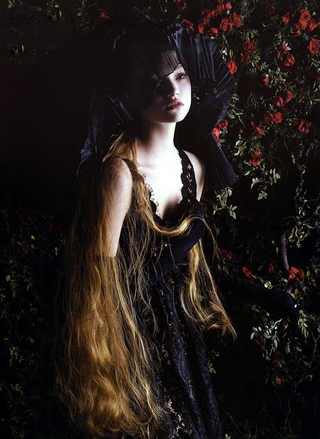 Gemma Ward by Mario Sorrenti for Vogue Italia, September 2005.