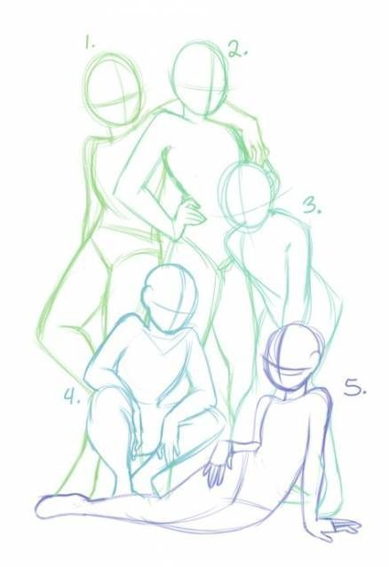 46+ Ideas drawing poses two people friends #drawing - How to draw people - abbey Blog