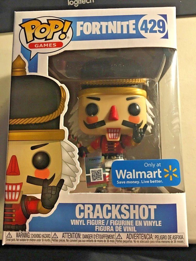 New Funko Pop Games Fortnite Crackshot Walmart Exclusive 429 Vinyl