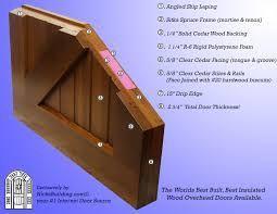 Image Result For How To Build Exterior Insulated Barn Door Wood Garage Doors Garage Doors Painted Doors