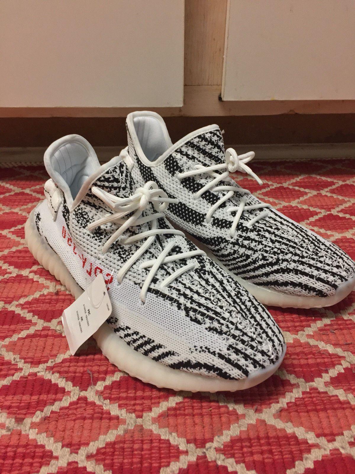 adidas yeezy boost 350 v2 zebra size 10 2baf09ac3