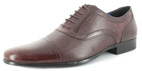 Red Tape Kingston Brown Lace up Chisel Toe Leather Mens Shoes - £25.99 |  Mens Shoes | Pinterest | Red tape and Kingston