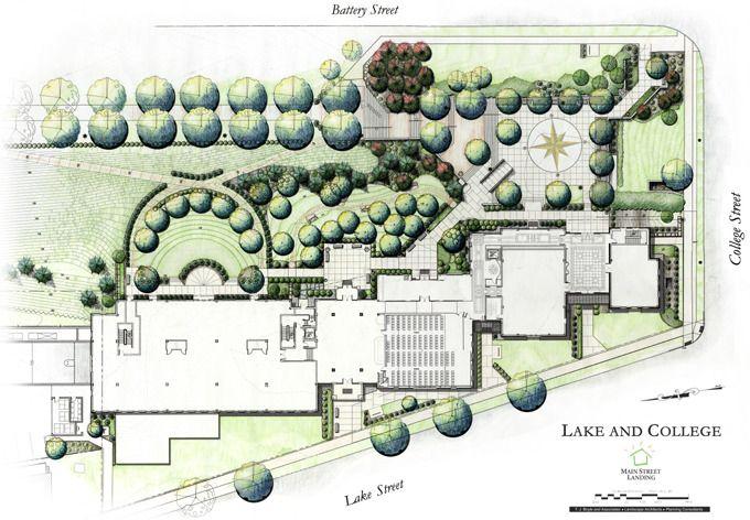 Illustrative Site Plans Site Plan Renderings T J Boyle