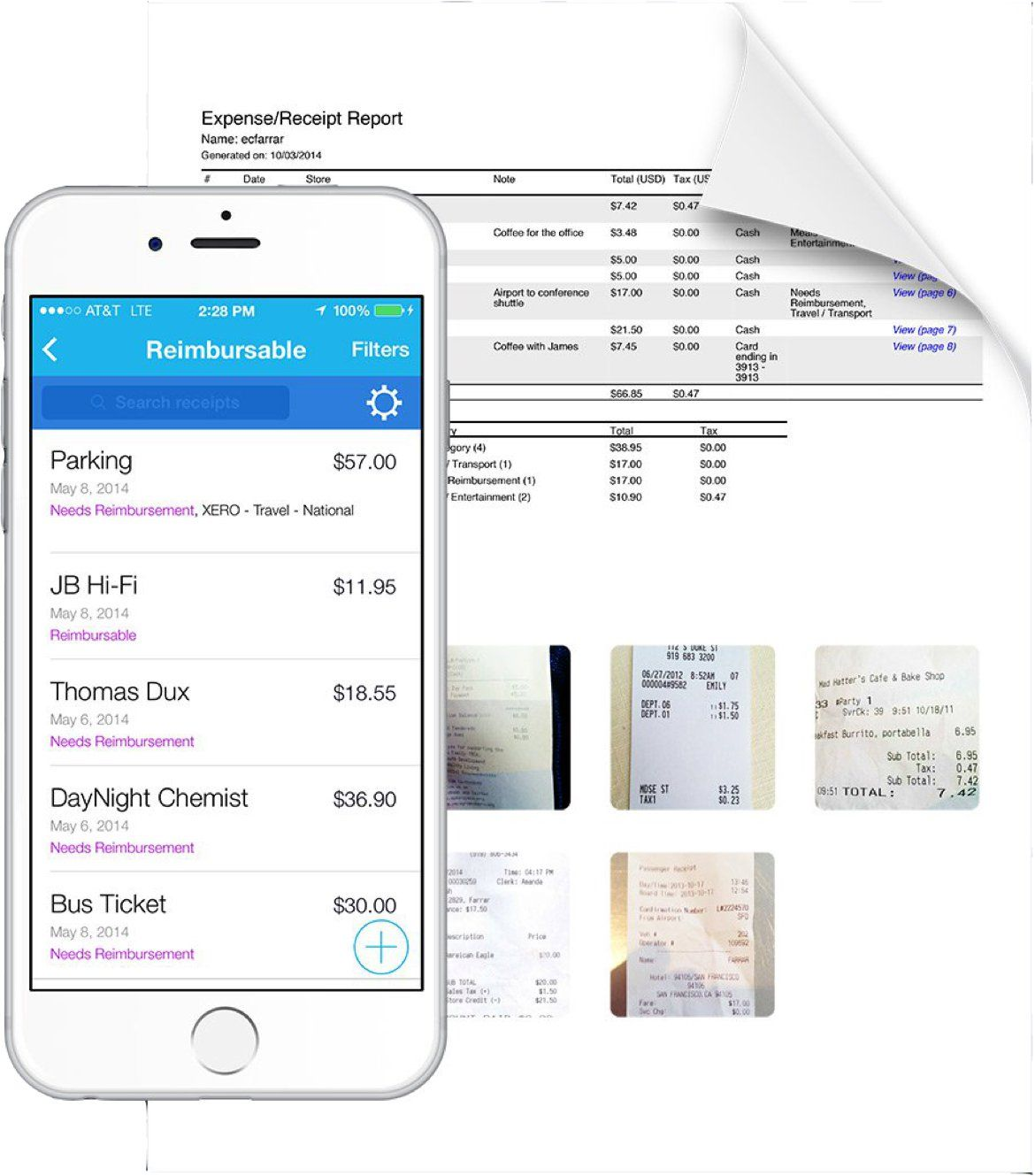 Shoeboxed Painless Receipt Scanning & Expense Tracking