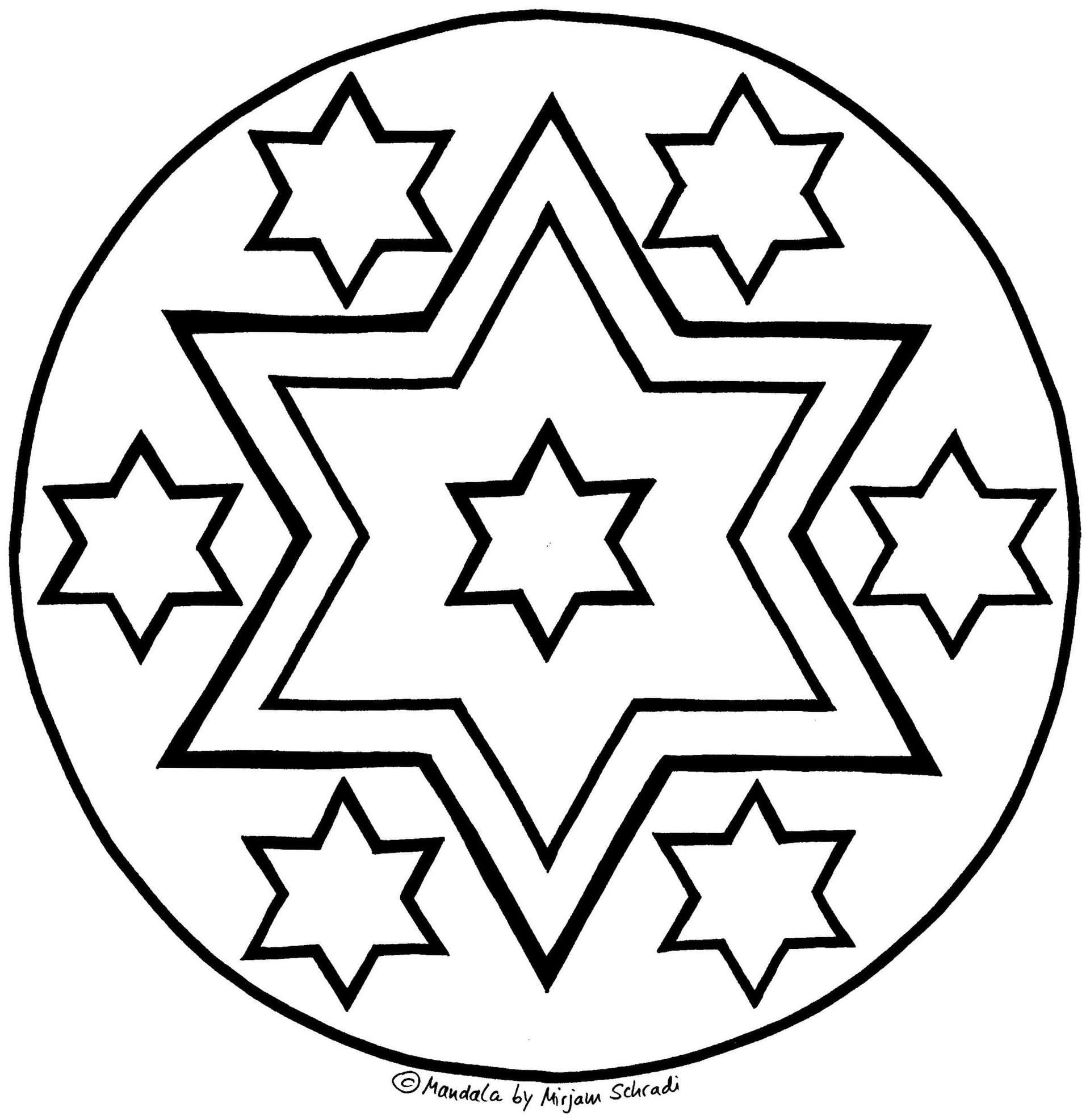 Einzigartig Mandala Weihnachten Zum Ausdrucken #Färbung