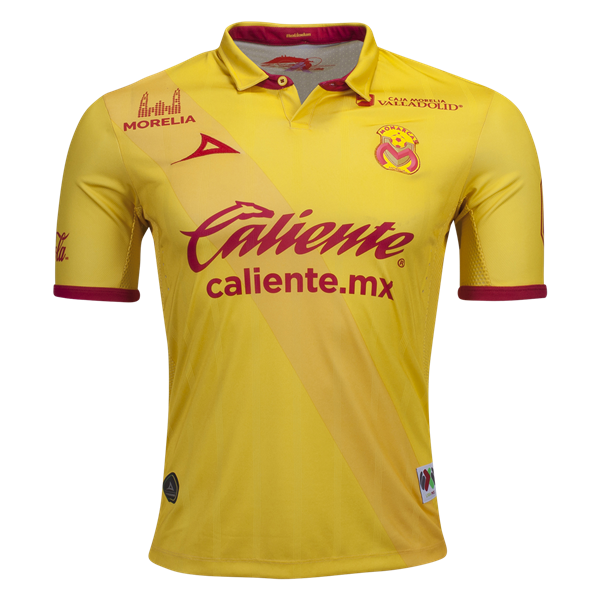 0121d5bc2 Morelia Home Jersey 16 17 - Liga MX Liga BBVA Bancomer - Kits   Apparel of  the Mexican Football League. Available now at WorldSoccershop.com