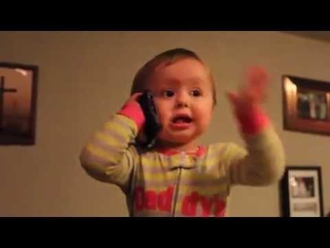 Hello Hello It S Boss Calling Funny Kids Kids Talking Funny Babies