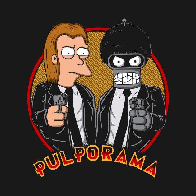 PULPORAMA T-Shirt - Futurama T-Shirt is $11 today at Ript!