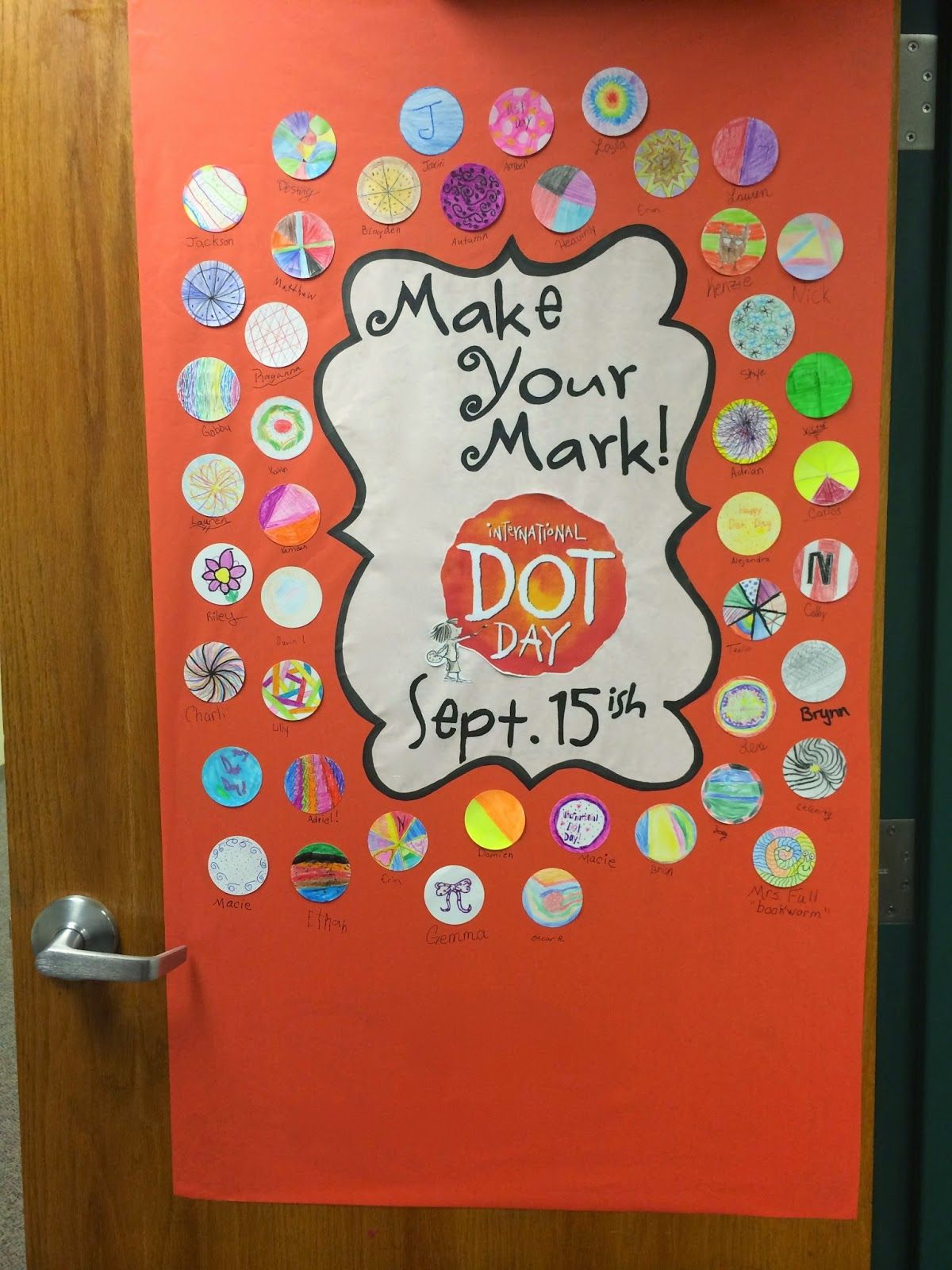 A Full Classroom: International Dot Day & students create a \