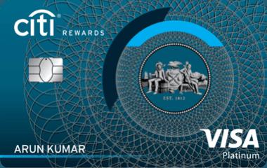 Citi Bank Rewards Credit Card India