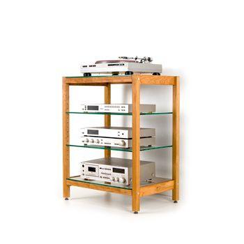 Projekt #P154 - QUADRA Hifi-Rack Media consoles Pinterest - dekorative regale inneneinrichtung