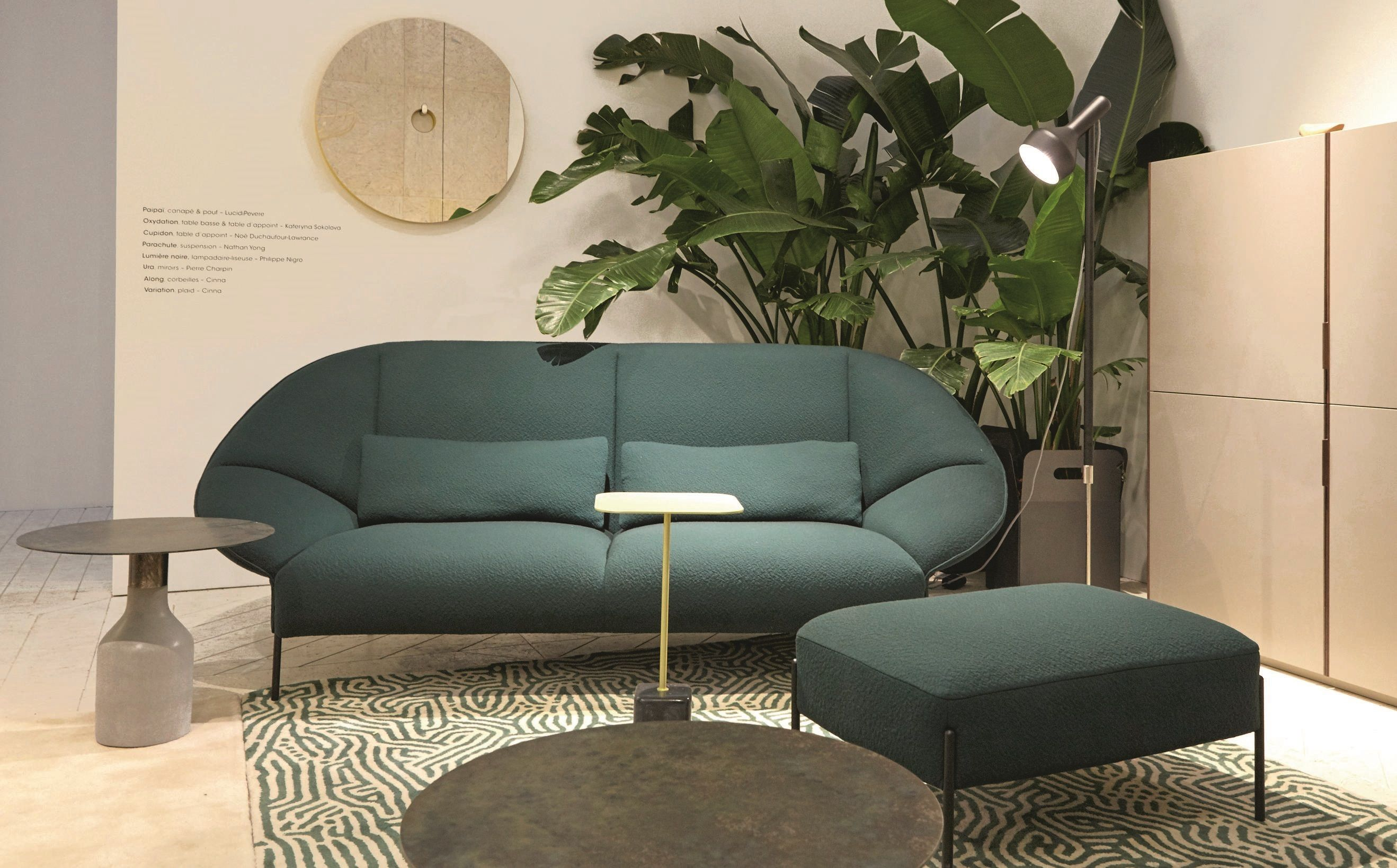 Discover The Païpaï Sofa By Lucidipevere Designed To Offer