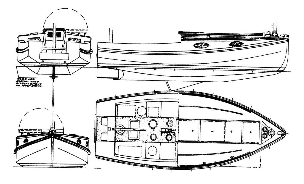 Chebacco Cuddy Cabin Plans Or Photos Raised Foredeck Version Of - Bolger micro trawler boats