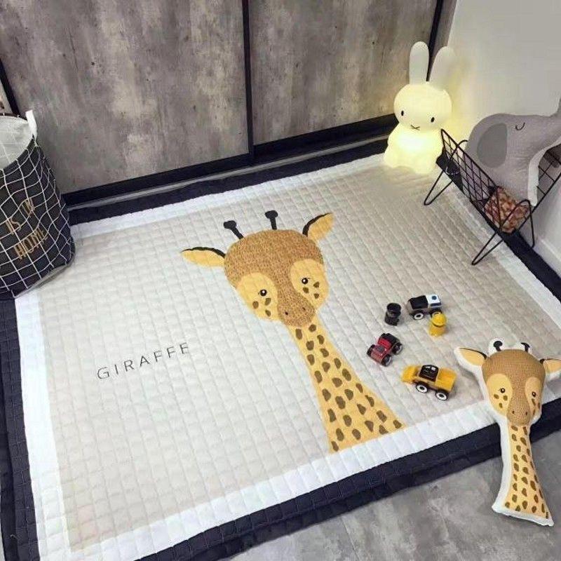 Big size 170*240cm Anti-Bacteria cartoon rabbit mat for children ...
