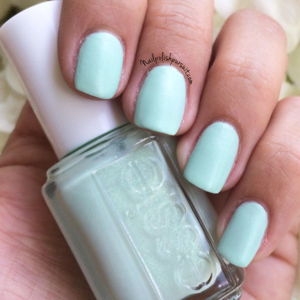 Yespadrilles from the essie 2015 Cashmere Matte Brights {exclusive ...