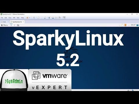 5) How to Install SparkyLinux 5 2 + VMware Tools + Review on VMware