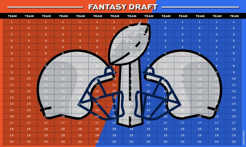1f82ae20 Fantasy Football Draft Kit Comes With Board For 2018-2019 And Over 430  Stickers Classic Edition Coded By Position