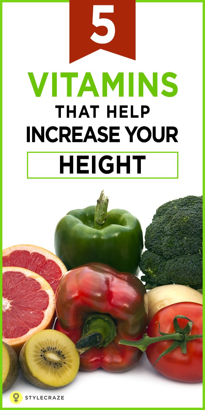 5 essential vitamins which will help you grow taller | healthy food
