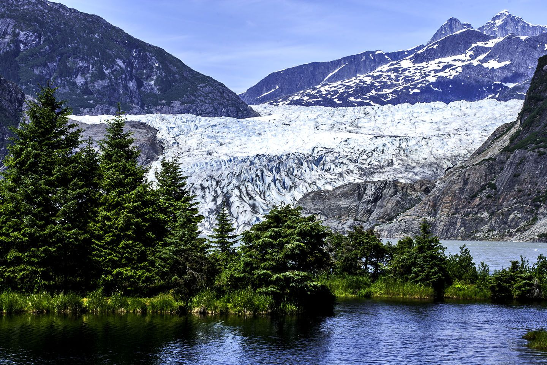 Landscape Juneau Alaska Juneau Alaska Alaska Mount Rainier