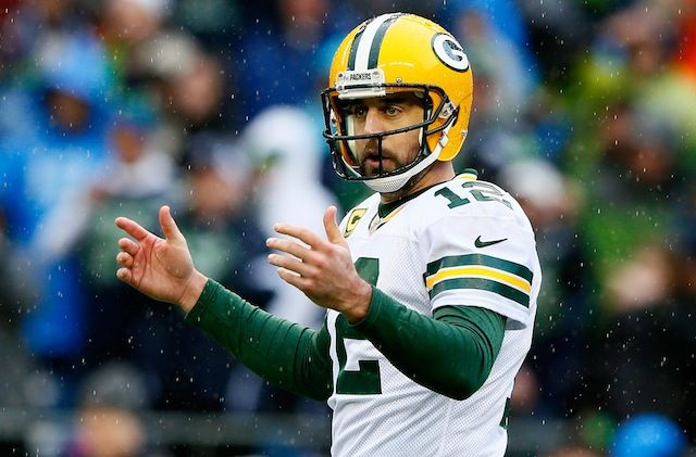 Aaron Rodgers Doesn T Think God Is A Football Fan Aaron Rodgers Nfc Championship Game Packers