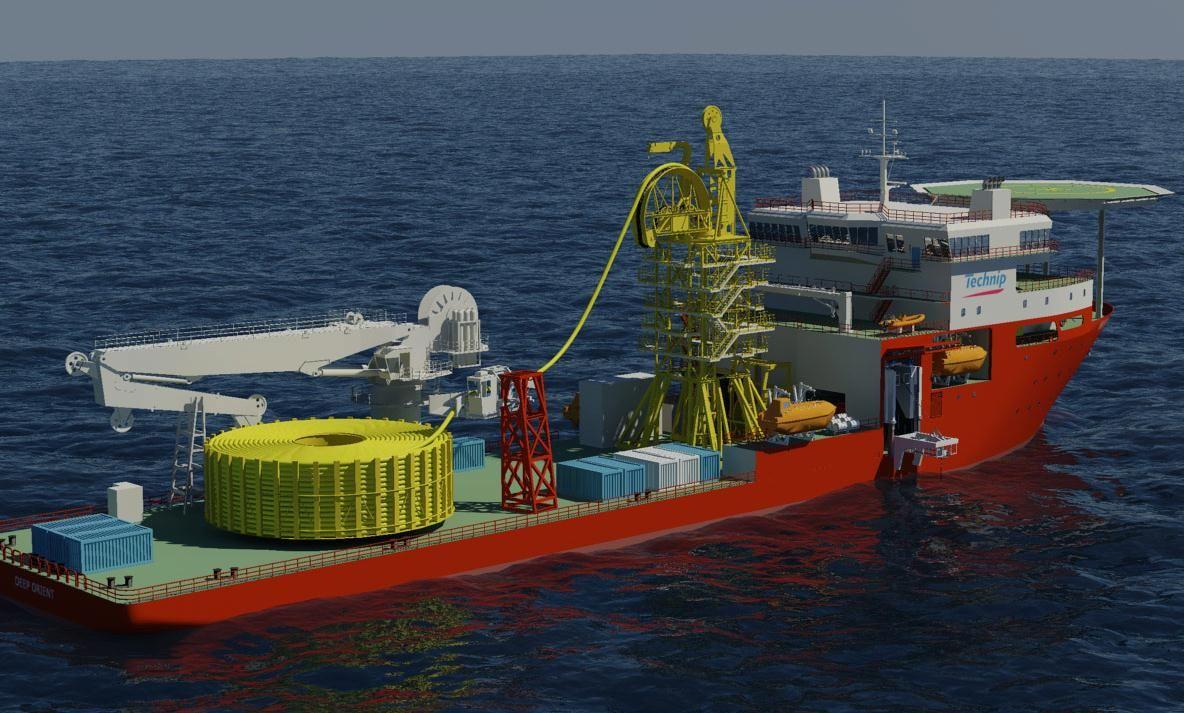 Naming Ceremony For Deep Orient Vessel Spain Technip