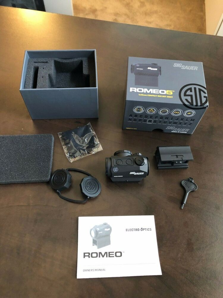Sig Sauer Romeo 5 Compact Red Dot Sight 1x20mm t