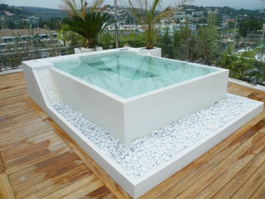 10 phenomenal backyard hot tub ideas for a home in 2019 - Draining a swimming pool may be a bad idea ...