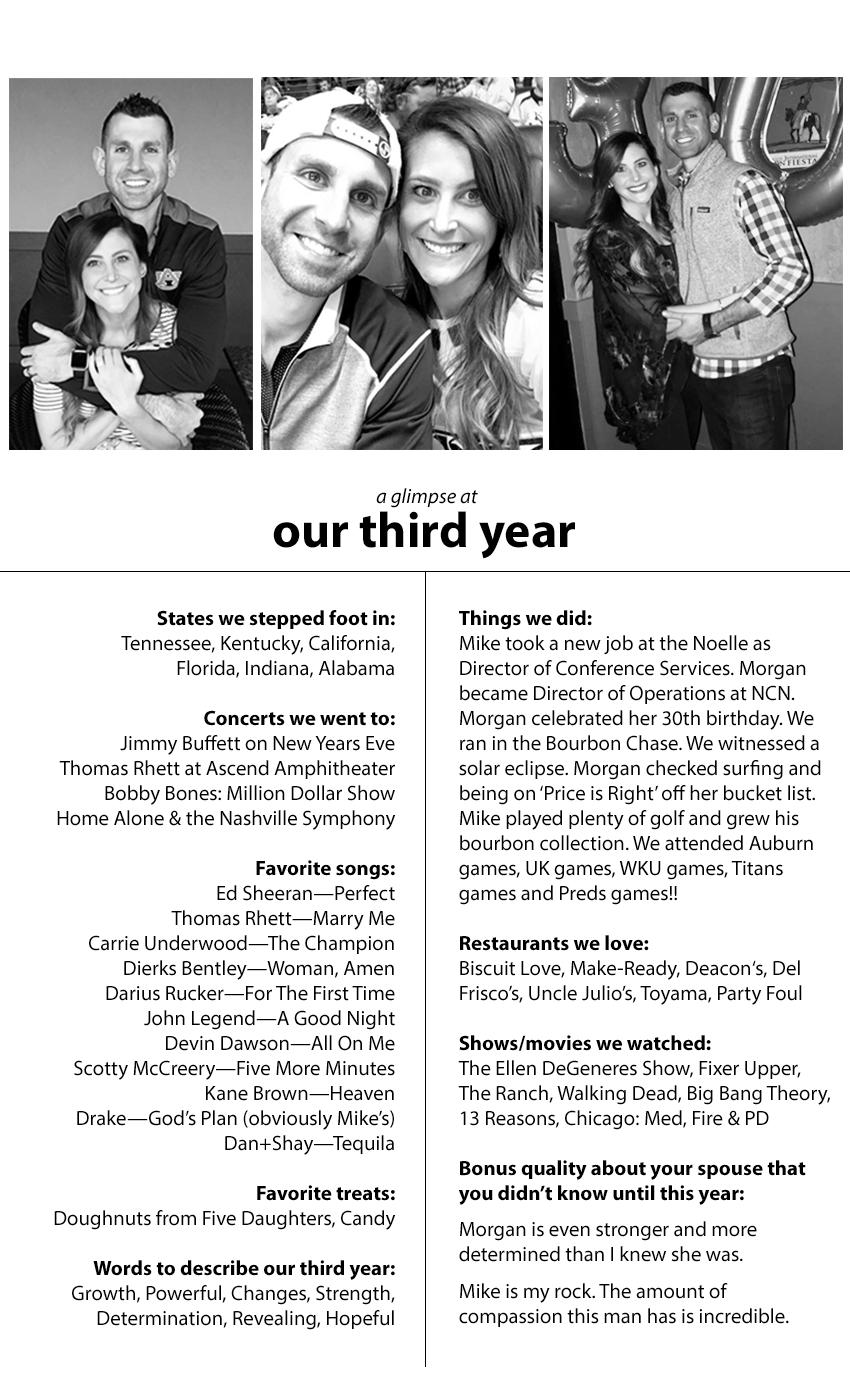 Three Year Anniversary Anniversary Traditions Three Year Anniversary Three Year Anniversary Gift