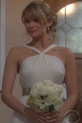 Hope Logan Wedding Gown The Bold And Beautiful Photo