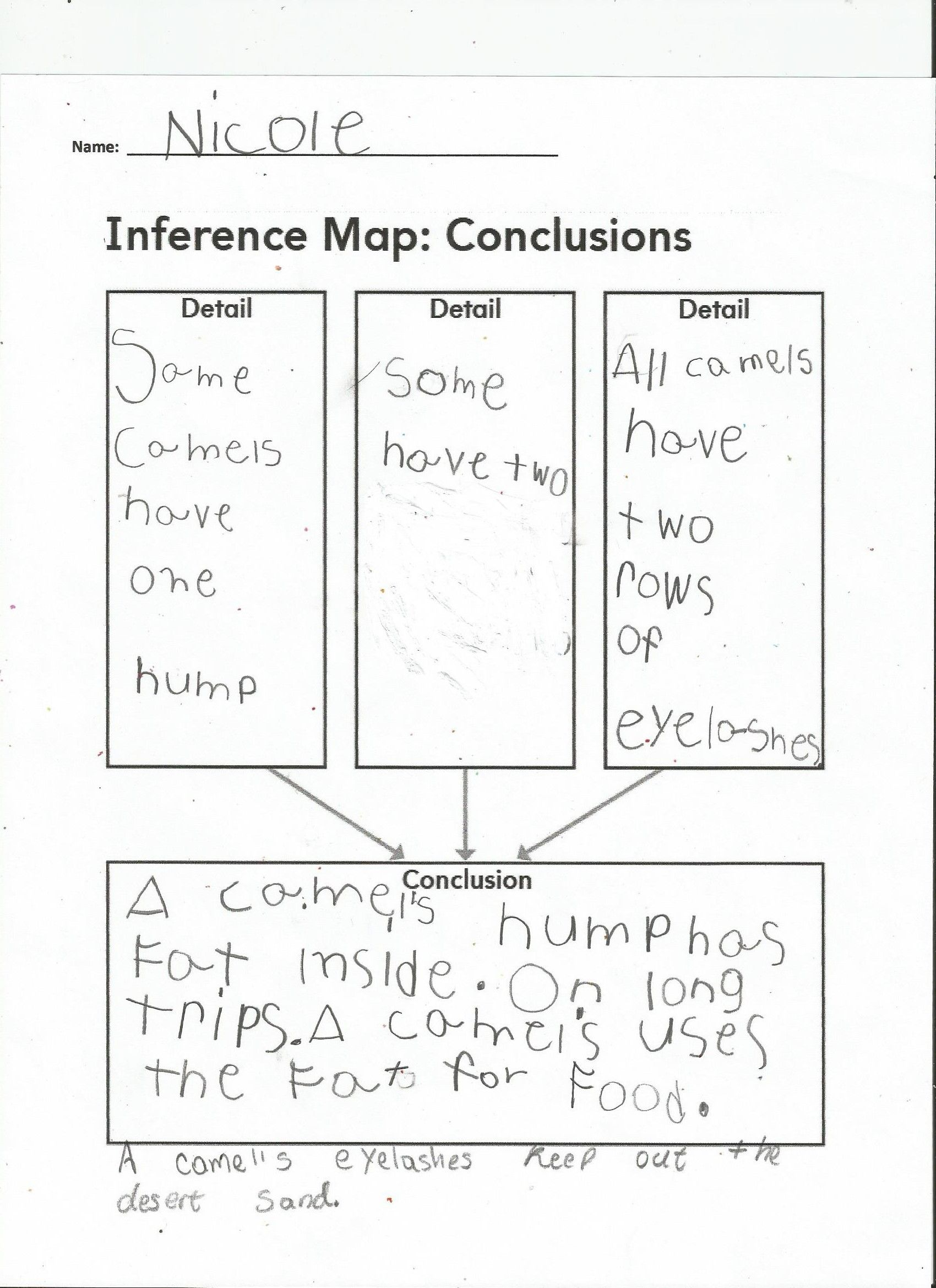 Amazing Animals Inference Map Conclusions 2nd Grade Worksheets Math Addition Worksheets Drawing Conclusions