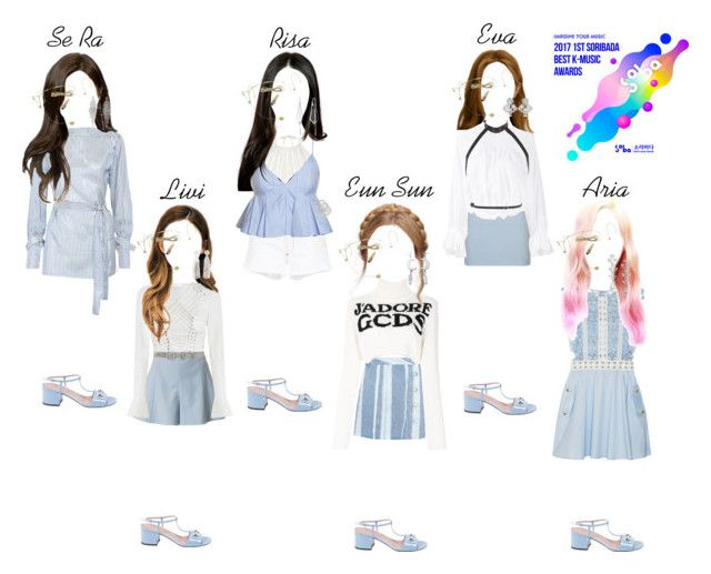 """""""Confident Rise and Shine Stage in Soribada Best K-Music Awards