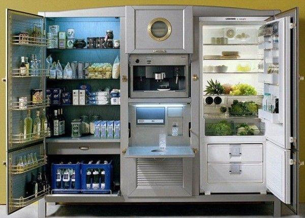 25 brilliant kitchen storage solutions dinning kitchen pinterest k hlschrank schrank. Black Bedroom Furniture Sets. Home Design Ideas
