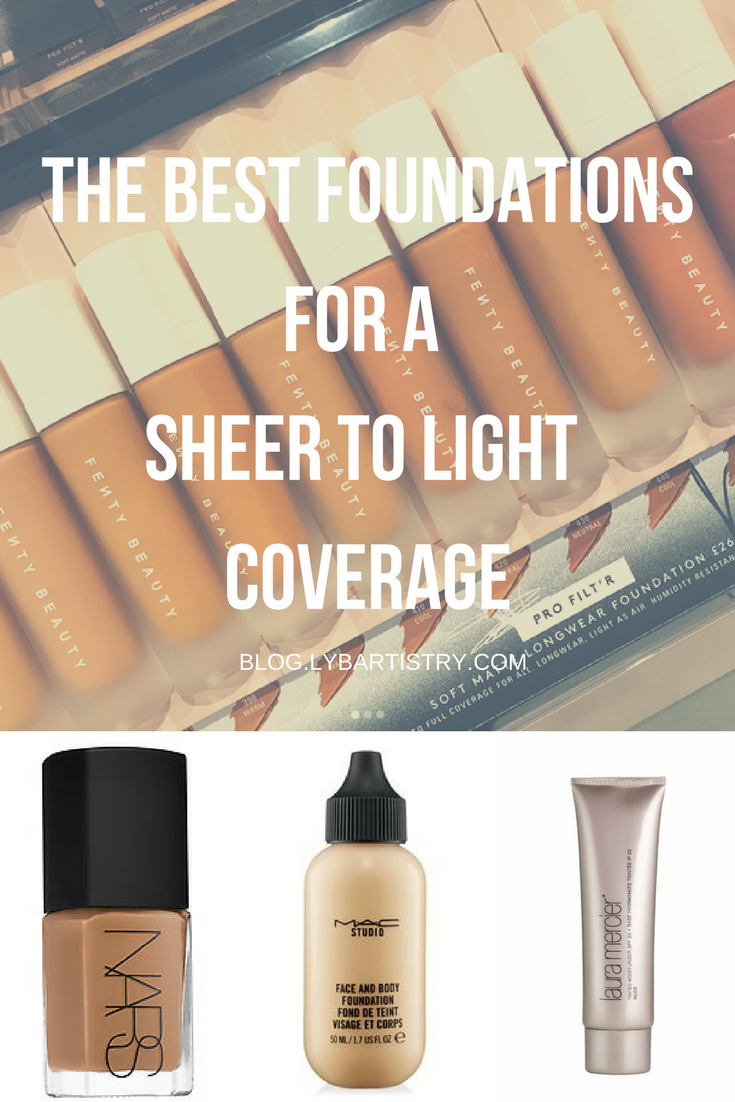 Foundation Options for Sheer to Light Coverage Best